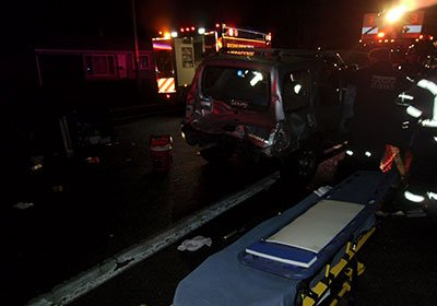 Drunk Driver Crashes Into Family Car
