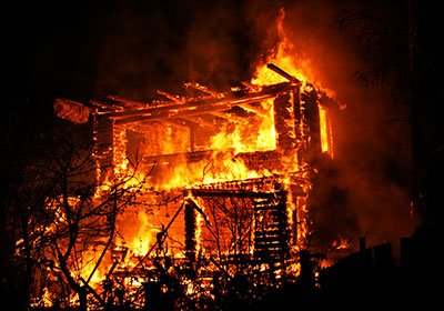 House Fire: Death of Two Children
