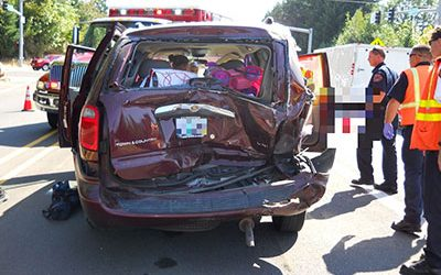 Rear-End Collision Injures Young Child