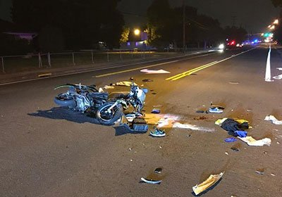 Southern Oregon Motorcyclist Injuries
