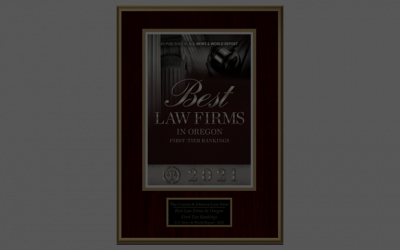 2021 Best Law Firms Rankings for The Corson & Johnson Law Firm