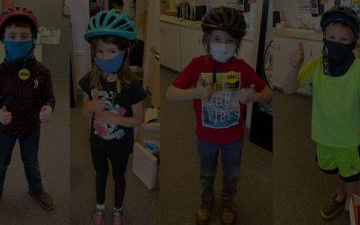 Brain Bucket Brigade Bicycle Helmet Donation To London Elementary School